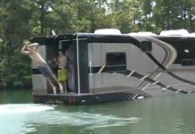 Bus aquatique customisé pour vacances de luxe