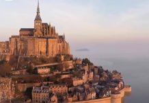Mont Saint-Michel, vu d'en haut