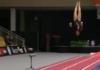 Chorégraphie en gymnastique artistique féminine au sol