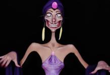 Maquillages effrayants et humoristiques