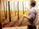 Paysage mural de Maxim Grunin