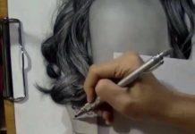 L'art du portrait au crayon de papier (critérium)