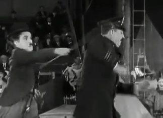 Charlot au cirque