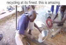 L'art du recyclage en Afrique