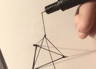Stylo pour dessiner en 3D en temps réel