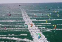 Compétition de Kitesurfing sud de la France