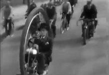 monowheel véhicule à une roue 1935