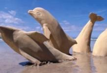 Sculptures en sable merveilleuses