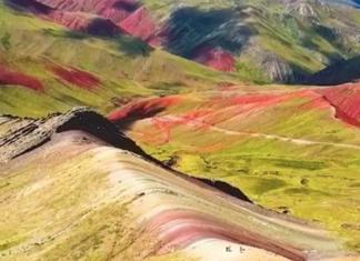 montagne des 7 couleurs de cusco perou