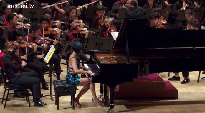 concerto au piano - Yuja Wang au Carnegie Hall de New York