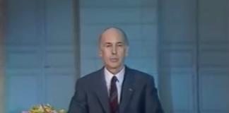 Giscard nous dit au revoir et s'explique lors d'une émission