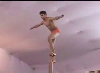 Mallakhamb, gymnastique indienne