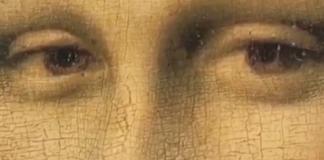 La Joconde cligne des yeux