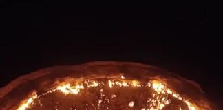 le cratère de Darvaza